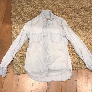 Mossimo Denim Chambray Shirt from Target Size Sm